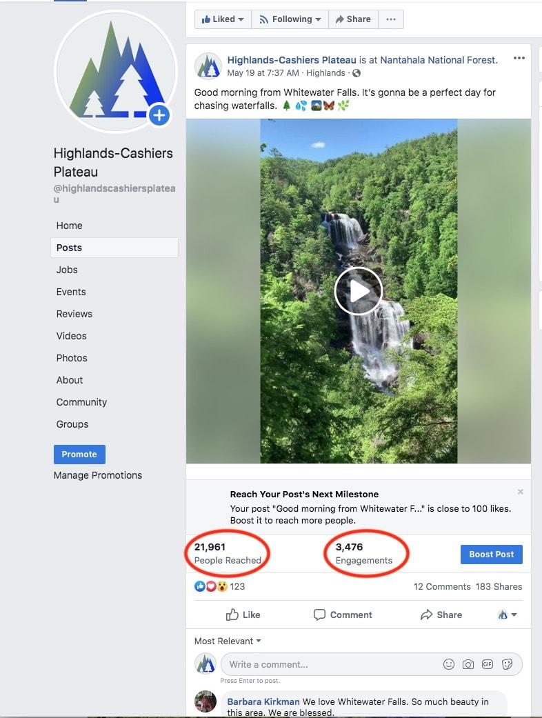 Rainmaker Digital Communications Social Media Engagement