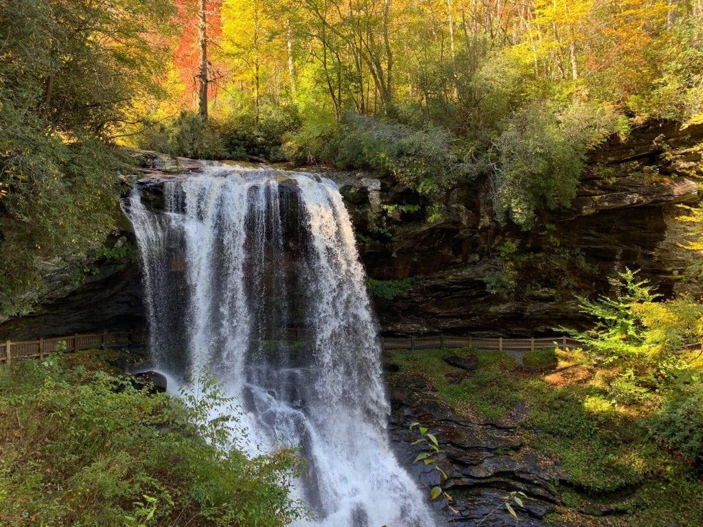 Dry Falls | Highlands NC | Highlands NC Waterfalls