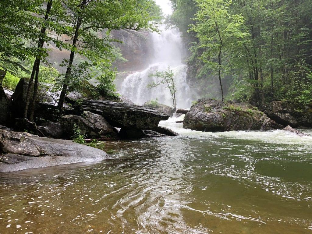 High Falls | Glenville NC Waterfalls | North Carolina Waterfalls